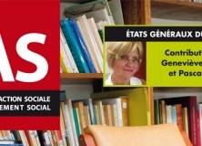 Etats généraux du travail social : contribution du Président du RENESS